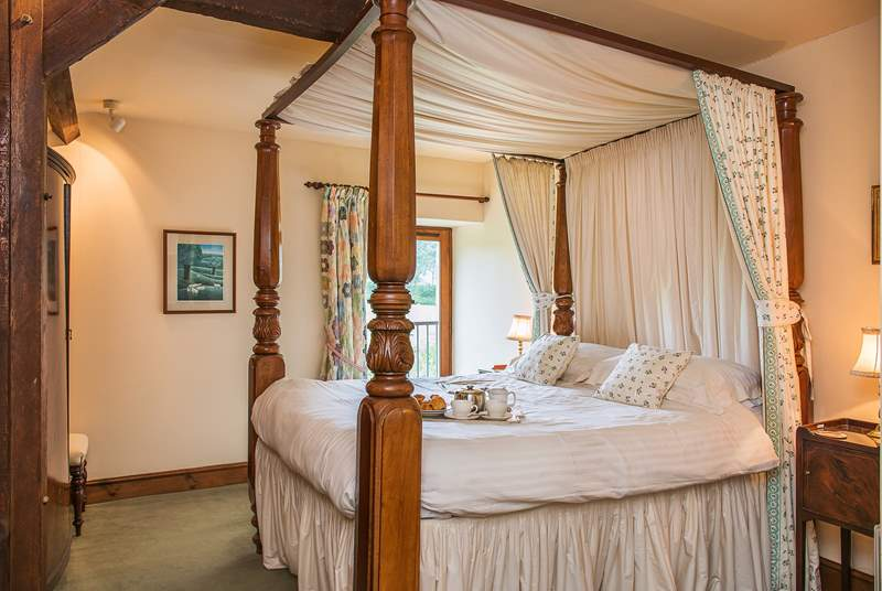 There are three beautifully appointed bedrooms.