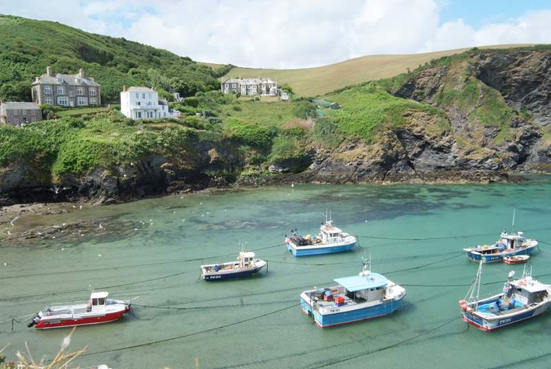 A little further down the coast is Port Isaac of Doc Martin fame - it's well worth a visit.