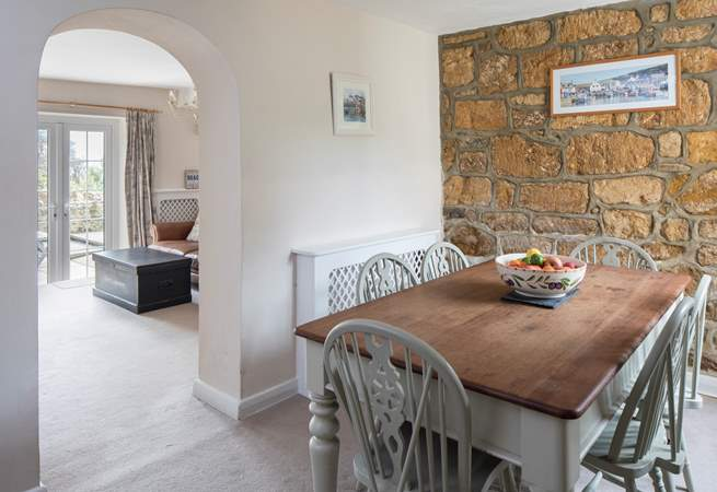 This cottage is really spacious, fabulous for a relaxing seaside break.