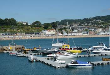 Lyme Regis is a very short drive, with the iconic Cobb, some great independent shops, kayak and SUP hire in the summer months and boat trips.