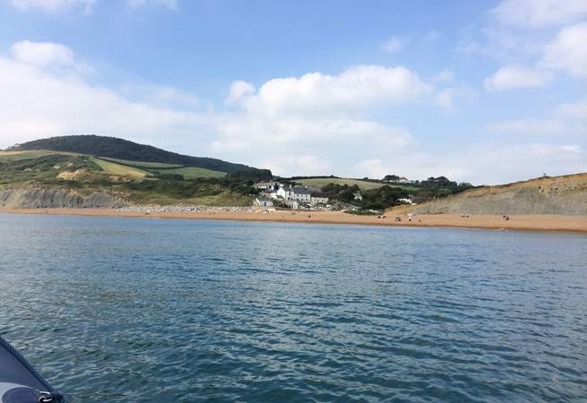 Seatown from afloat.