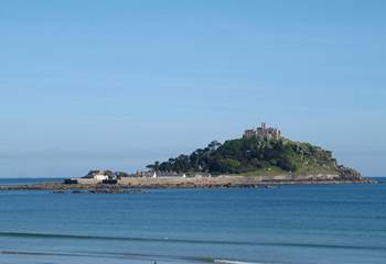 St Michael's Mount (not the view from the property).