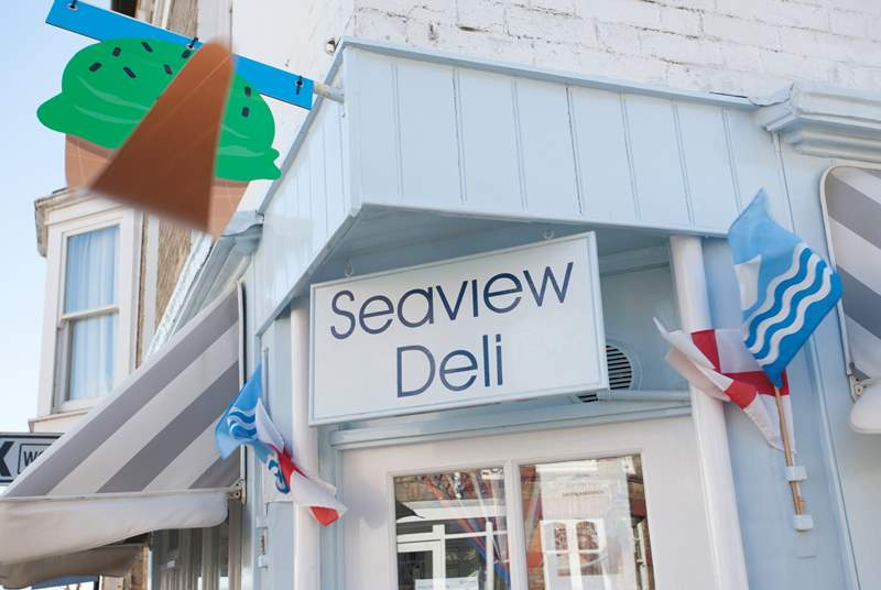 Why not visit the Seaview Deli for a refreshing ice cream or scrummy baguette?