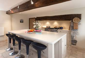 The kitchen is equipped as a true home-from-home.