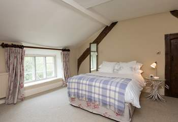 Another view of the 'family' room. With the link door closed this serves as a fully independent bedroom with a further door to the landing and access to the family bathroom.