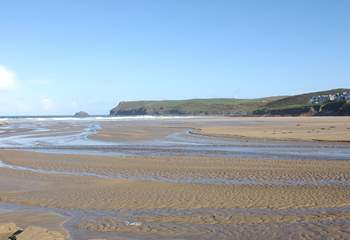 There are fabulous beaches on this part of the coastline - Polzeath will delight all members of the family.