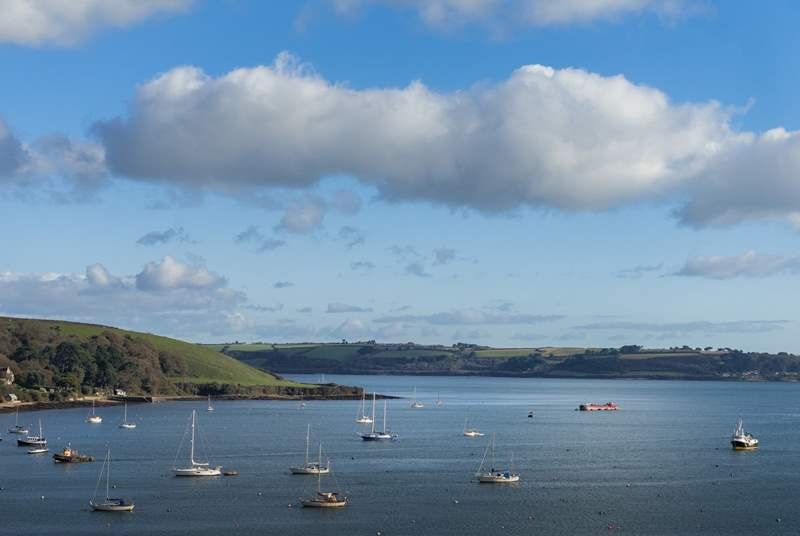 Stunning views from every room and the terrace too - Pennant Cottage most definitely ticks the box!
