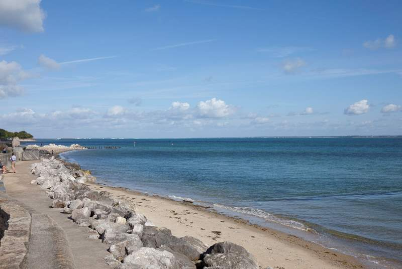 Seaview is the neighbouring village to Ryde.