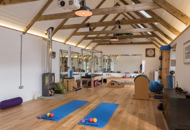 Sarah is a Pilates Instructor and Sports Therapist. It is advisable to book in advance if you wish to have a Pilates lesson or massage during your holiday.