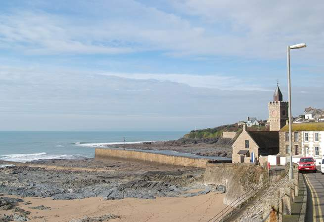 Porthleven has a lovely little beach just over a mile from Lavender Barn.