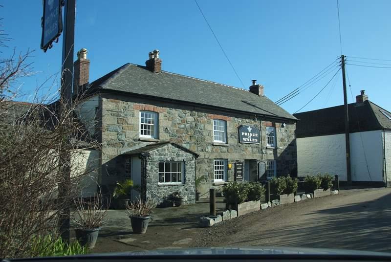 The pub in St Martin.