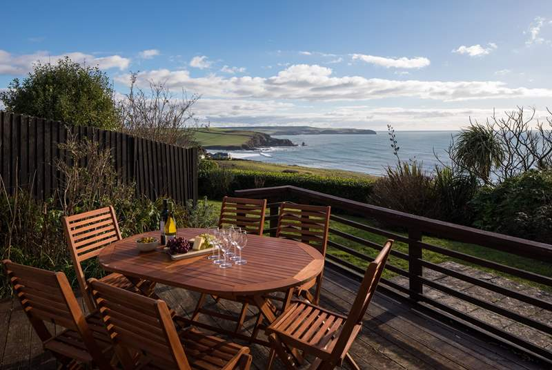 The views from your private decking are simply unrivalled.