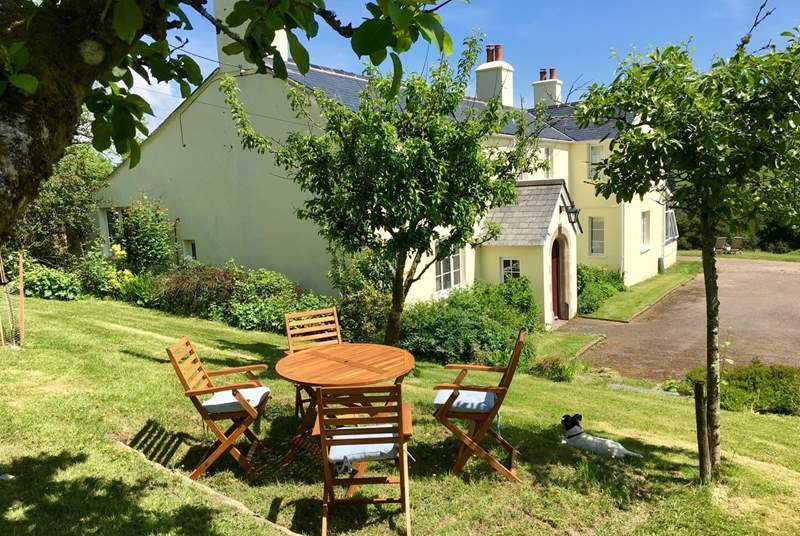 Stockham farm, where guests have a fully independent wing of this lovely farmhouse, with the most amazing panoramic views.