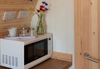 A microwave!