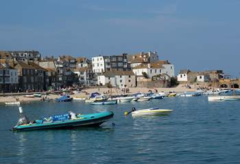 Bustling St Ives is well worth a visit.
