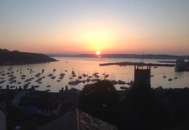 The sunrises from 3 Thetis Place are just stunning (if you are up early enough).