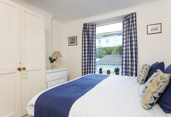 This lovely bedroom is on the first floor (Bedroom 2).