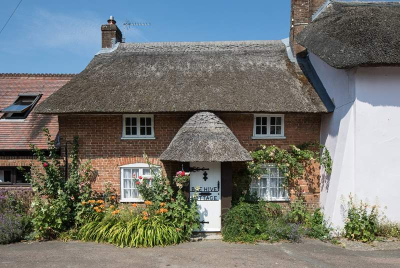 Beehive Cottage is 200 years old and used to be the home of the district nurse.