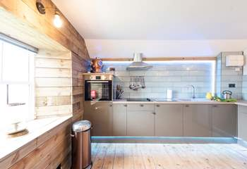 A bespoke kitchen.