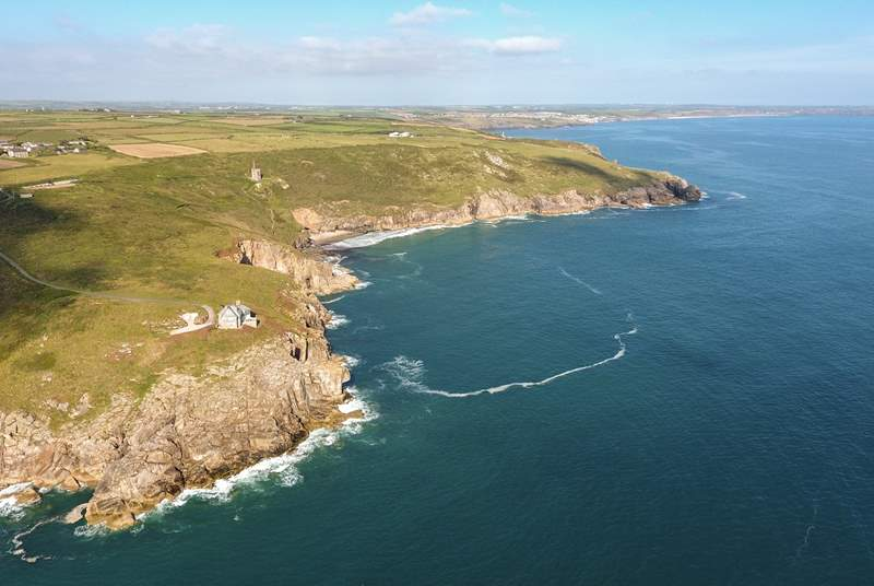 The Rinsey headland.
