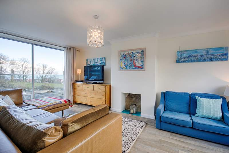 There is a private balcony with sea views off the living-room however, if this doesn't hold your attention, there is also a TV and DVD player for some downtime.