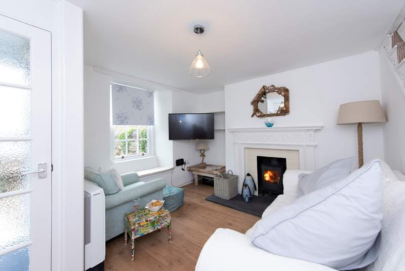 Relax in front of Sky TV whilst warming your toes by a roaring fire.