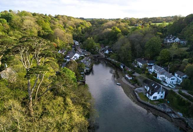 Explore The Helford from the banks of your private waterfrontage.
