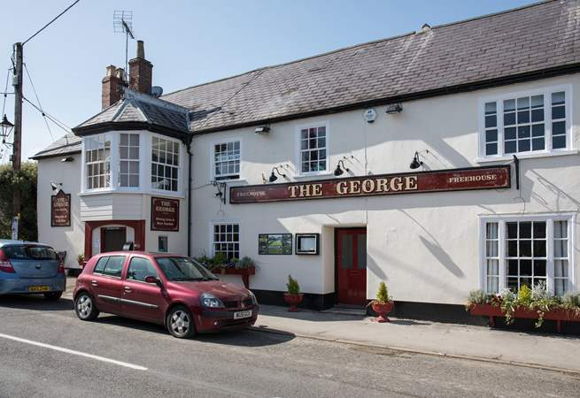 A good traditional pub, just a few minutes walk from The Old Manor House.