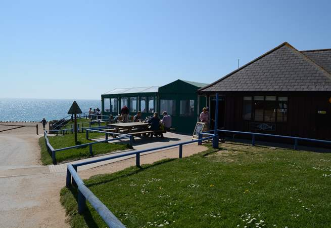 Burton Bradstock has The Hive Beach Cafe, which serves great locally-caught seafood and delicious cakes, and has fabulous sea views.