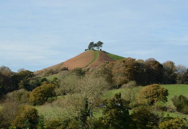 When you see Colmer's Hill, you are not far from your holiday destination.