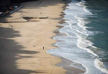 Stunning beaches nearby.