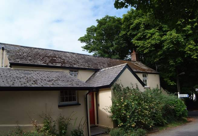 At the heart of the village, yet very peaceful. This  16th Century cottage is full of character.