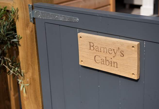 Welcome to Barney's Cabin.