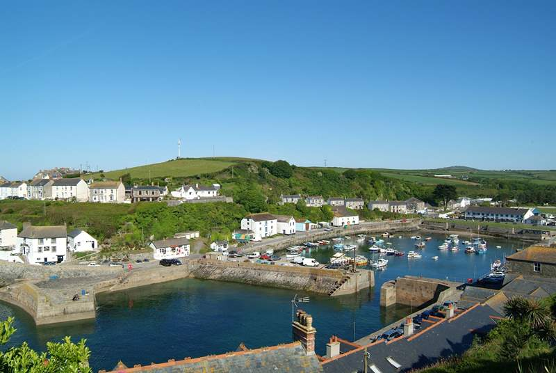 Porthleven has a variety of shops and restaurants, including a Rick Stein's.
