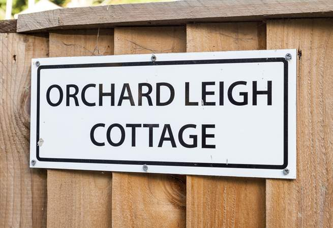 Orchard Leigh Cottage.