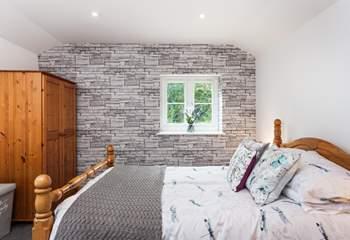 The super comfy master bedroom.