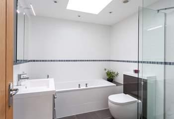 The super family bathroom.