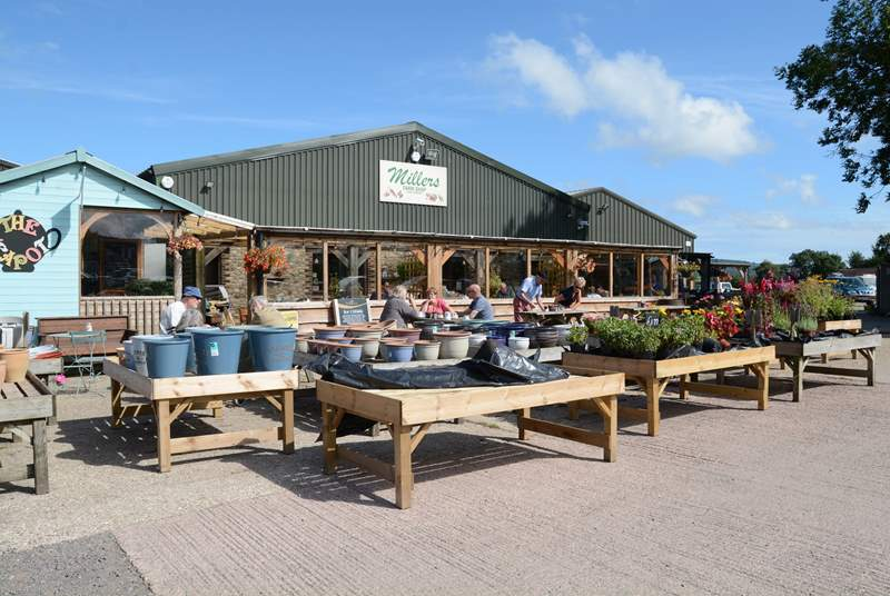 Millers Farm Shop in nearby Axminster is stocked full of local produce and holiday indulgences.