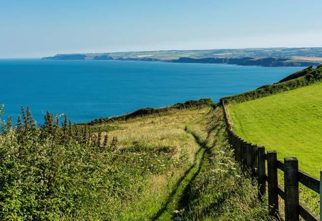 The stunning north coast.