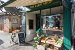 This wonderful farm shop also has a cafe upstairs selling the most delicious cakes!