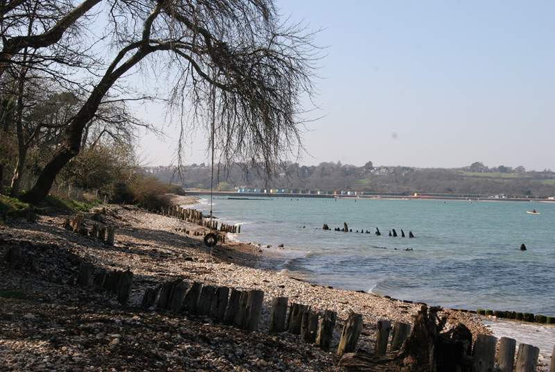 Nearby Ducie beach is a great spot for swimming.