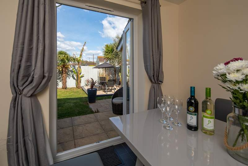 Step out of the kitchen into your own little piece of Brixham heaven.
