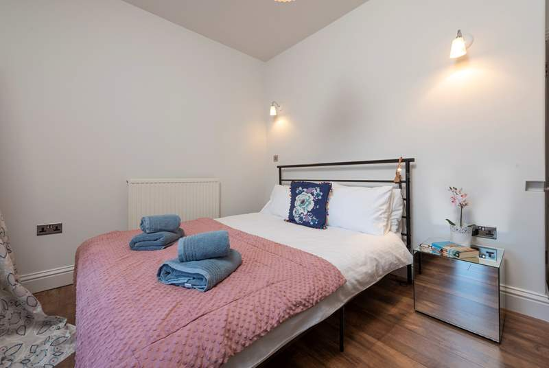 There are four stylish bedrooms.