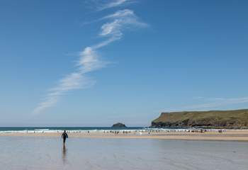 This stretch of the coastline is peppered with great beaches.