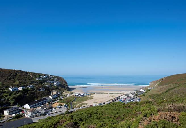 Porthtowan is well worth a visit.