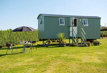 Hannah's Haven is definitely a fitting name for this idyllic retreat, set in a large meadow.
