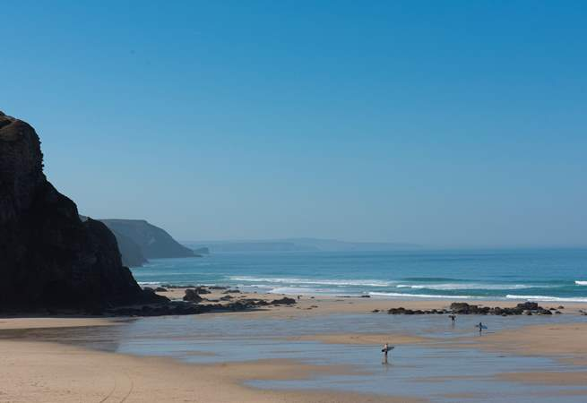 Why not give surfing a go - lessons can be booked at the beach cafe.