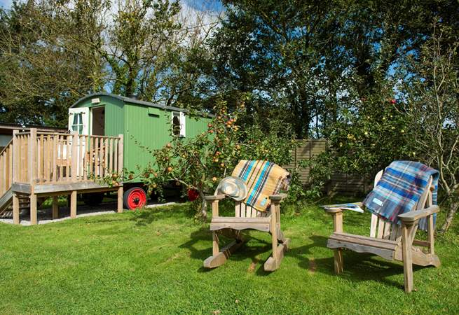 This is a great base for exploring the north coast of Cornwall - if you can pull yourself away from the orchard.