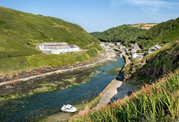 The pretty harbourside village of Boscastle is close by.