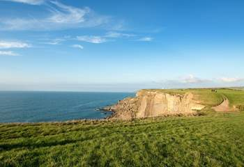 The north Cornish coastline is quite breathtaking.